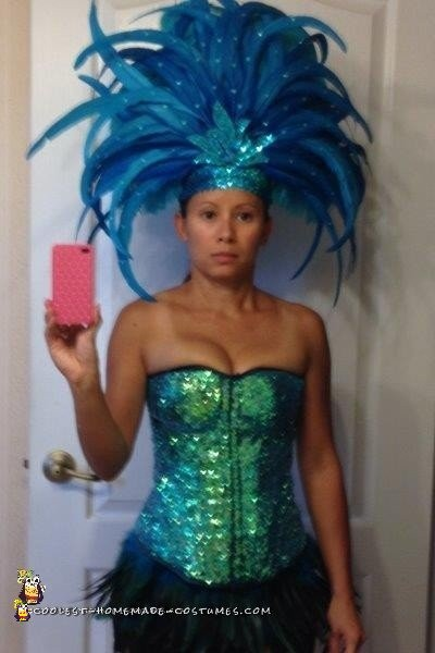 My DIY Samba / Carnival Dancer Costume