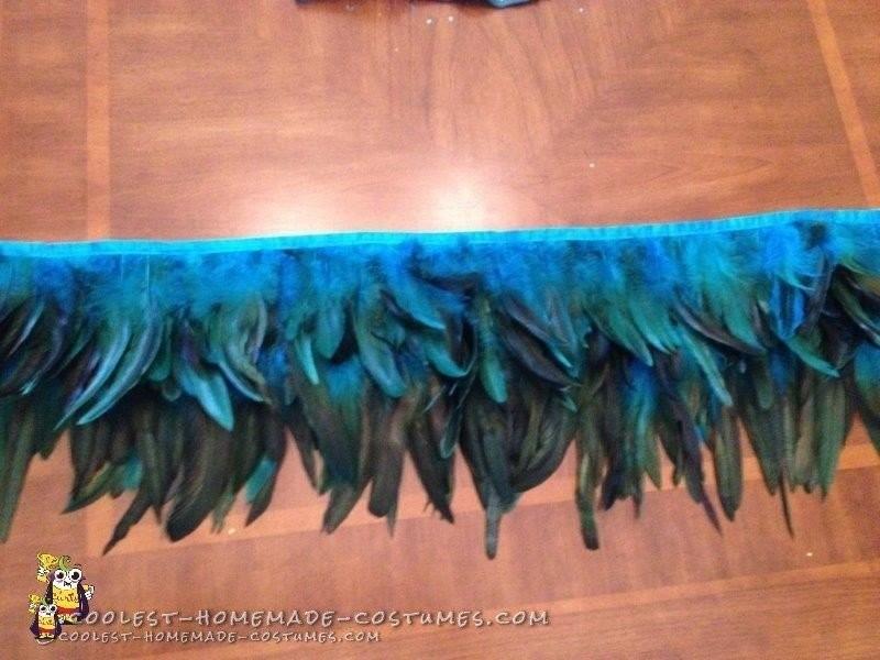 My DIY Samba / Carnival Dancer Costume Skirt