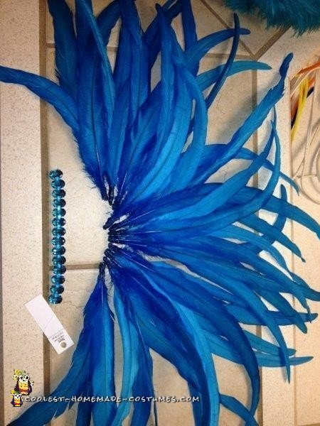 My DIY Samba / Carnival Dancer Costume Headpiece