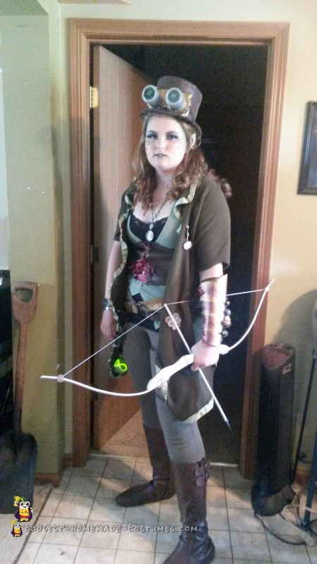 ComiCon Costume for the Tallest Steampunk Elf Imaginable