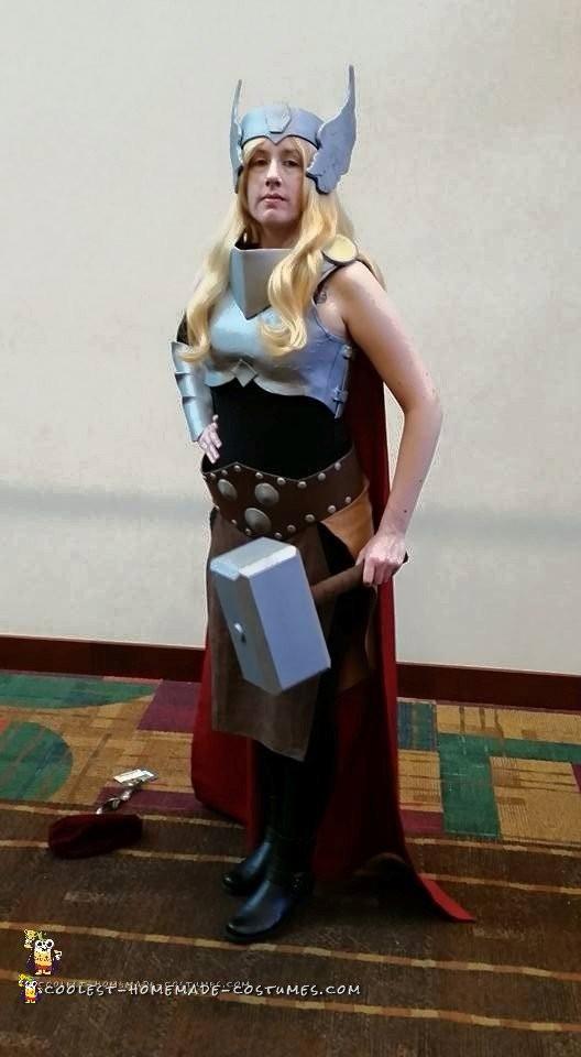 Epic Homemade Thor Costume