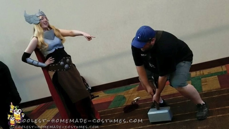Epic Homemade Thor Costume