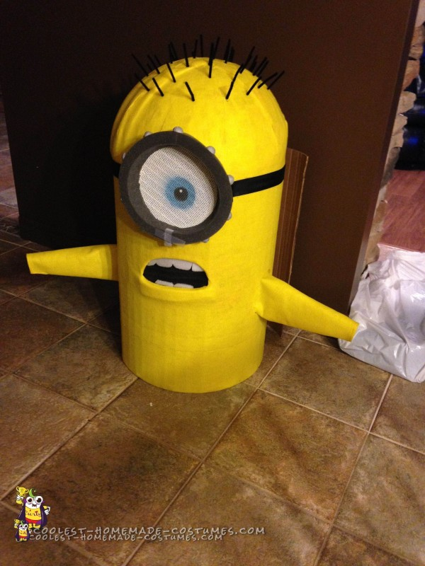 Added Eyes, Teeth, Goggles and Hair to the Minion Costumes
