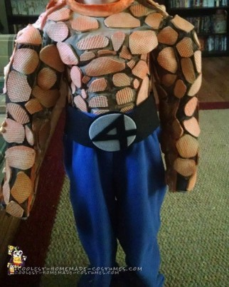 "Fantastic Four ""Thing"" Costume for a Boy"