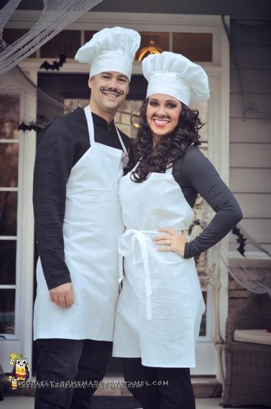 Couples Chef Costume