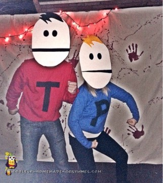 Terrance and Philip South Park Halloween Costumes