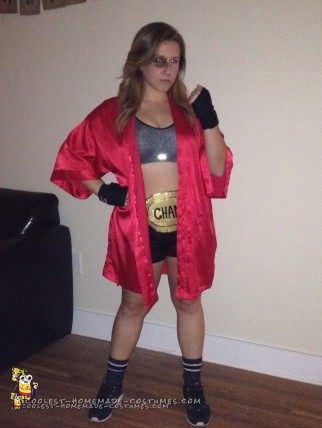 Knockout Woman's Boxer Costume