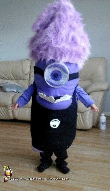 Easy Evil Purple Minion Costume