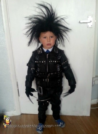 3 Year Old Edward Scissorhands Halloween Costume