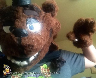 DIY Freddy Fazbear Costume from Five Nights At Freddy's!