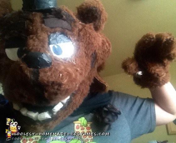 DIY Freddy Fazbear Costume from Five Nights At Freddy's!