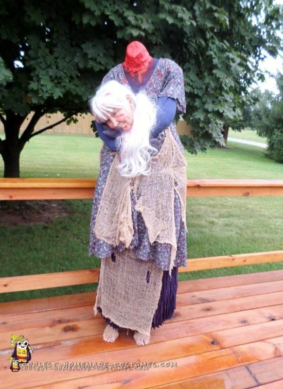 This is me as the Headless Woman