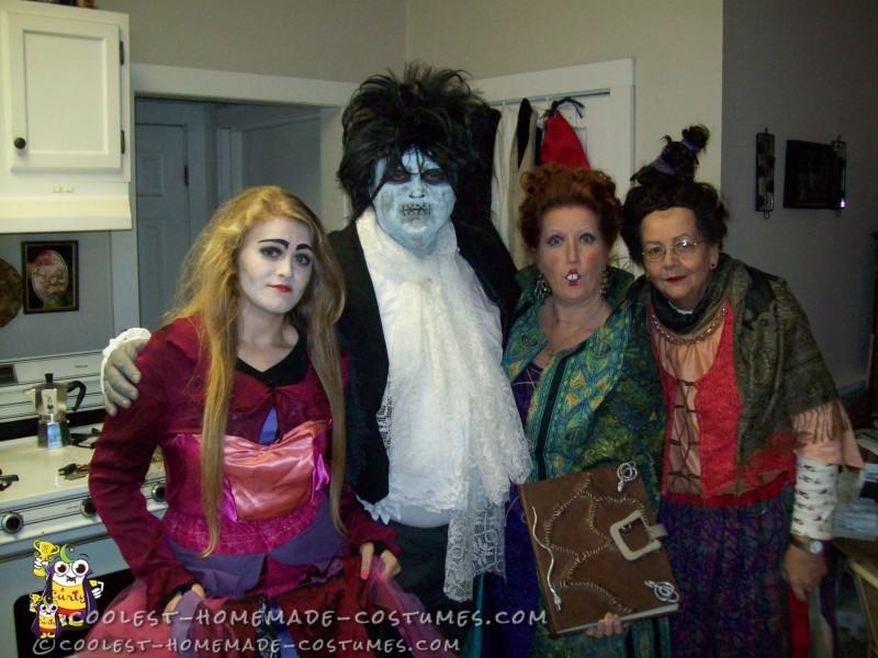Sarah, Billy, Winnie & Mary
