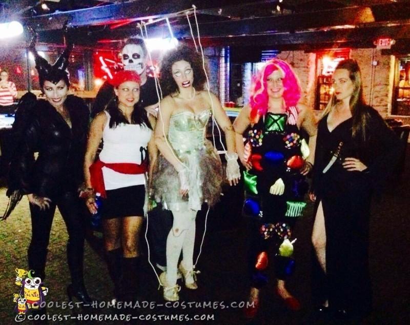 Cool Marionette Halloween Costume Idea