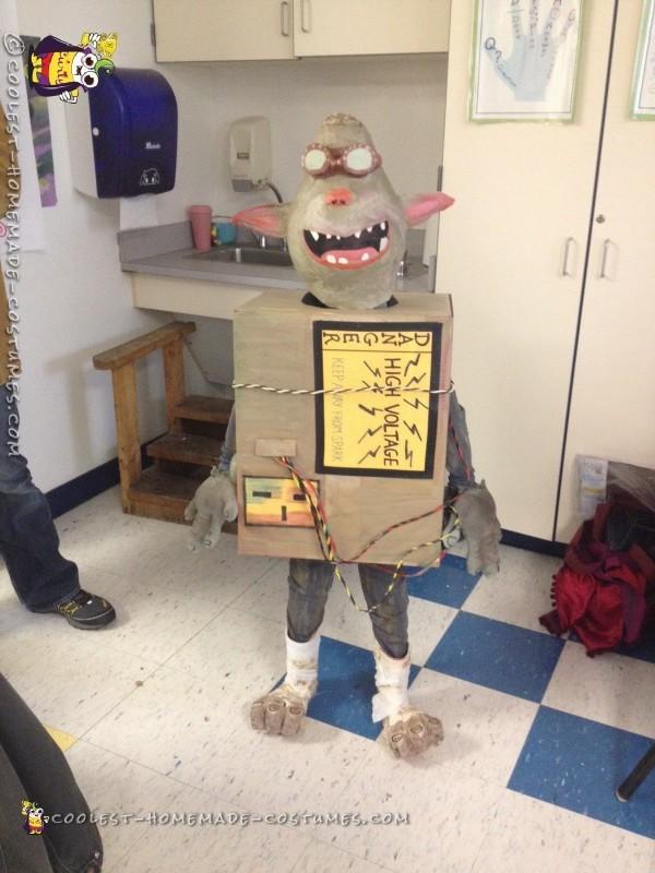 Sparky in class Halloween