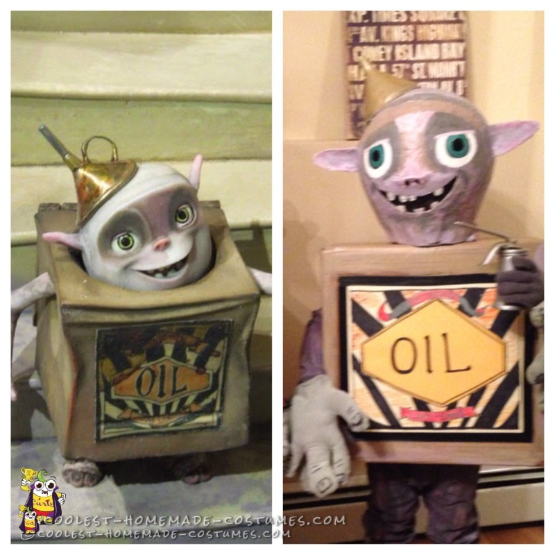 Oil side by side