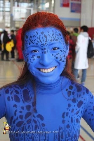 My Homemade Mystique Costume