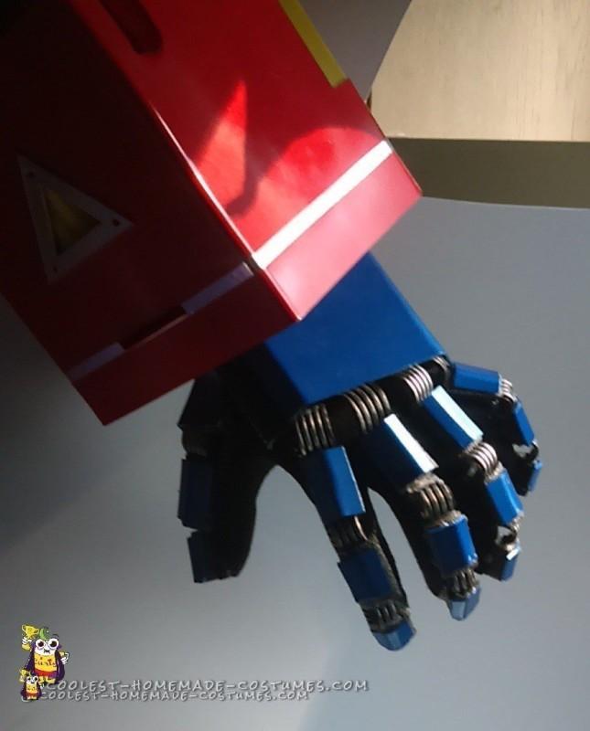 Cool Optimus Prime Costume with Light-Up Matrix - 5