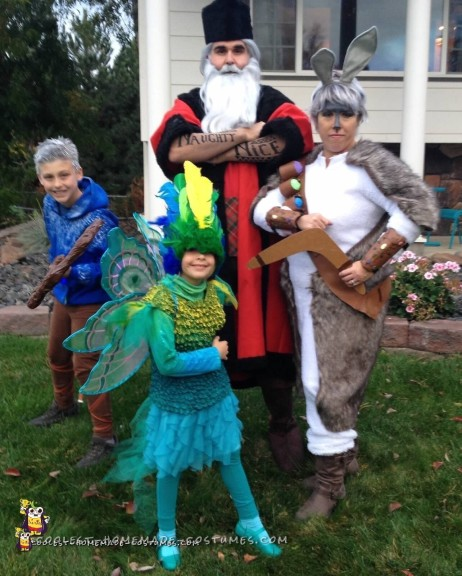 Cool Family Costume - Rise of the Guardians