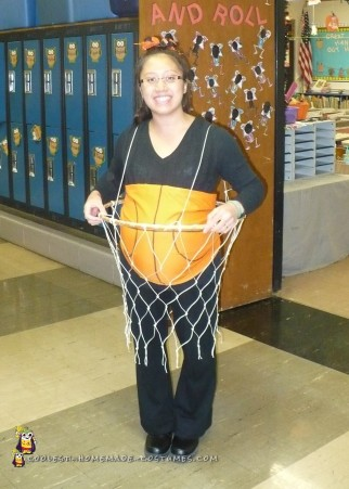 Slam Dunk Pregnant Belly Costume