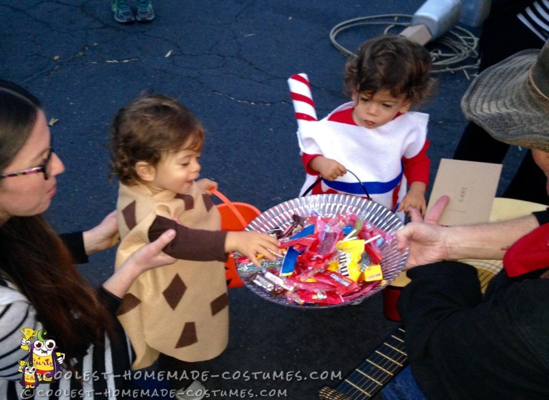 Cutest Cookies and Milk Costumes for Twins