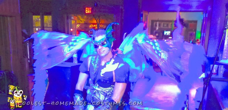 Gargoyle Spreads his Wings