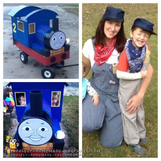Edward the Blue Engine Train Costume