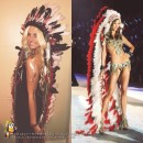 Awesome DIY Indian Costume and War Bonnet