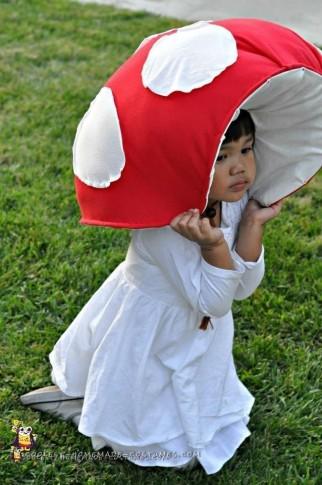 Cute Toadstool Mushroom Costume