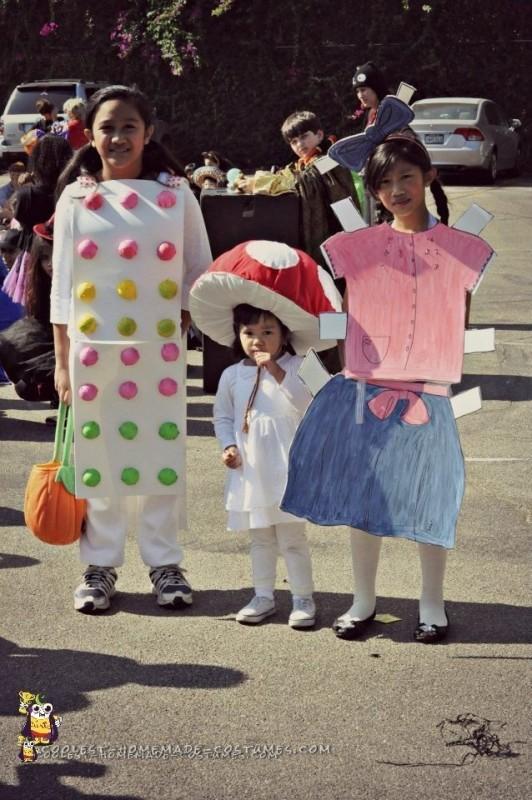 Cute Toadstool Mushroom Costume - 1
