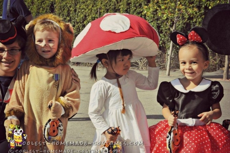 Cute Toadstool Mushroom Costume - 2