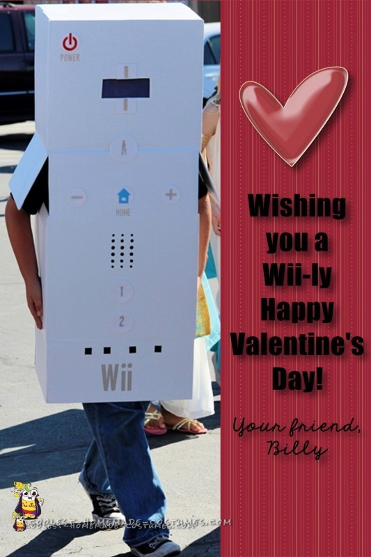 Wii Remote Cardboard Box Costume