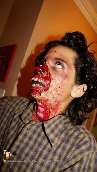 Zombie Makeup and Costumes