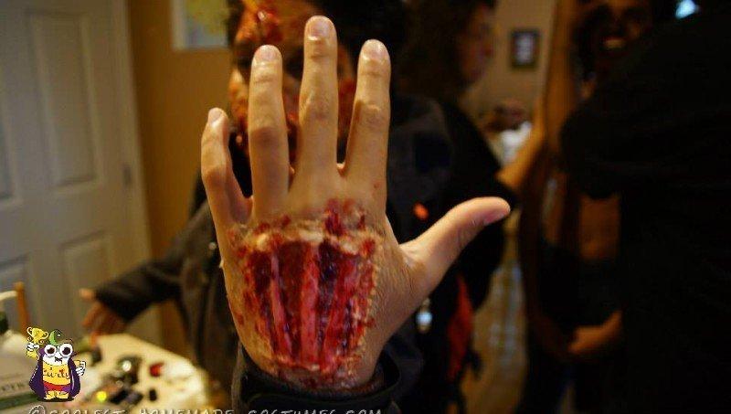 Lucas 's hand