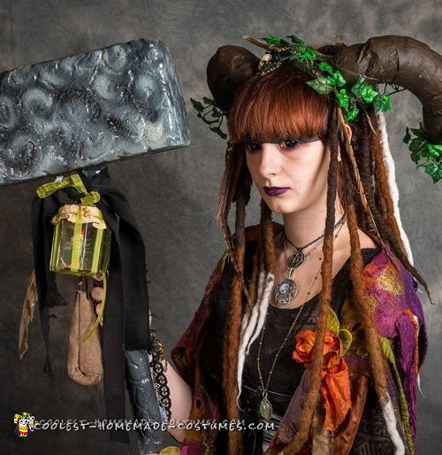 Artistic and Demonic Fairy Eater Costume