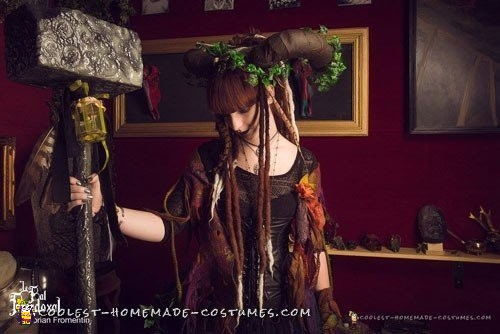 Artistic and Demonic Fairy Eater Costume - 4