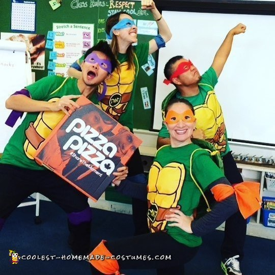 Teachers by Day - Teenage Mutant Ninja Turtles by Night!