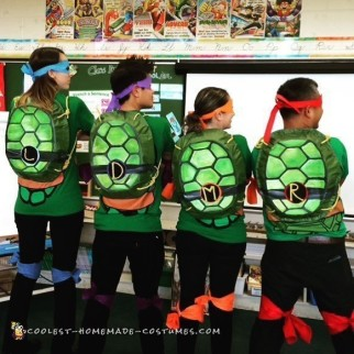 Teachers by Day - Teenage Mutant Ninja Turtles by Night!