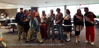 40 Years of SNL Group Costume