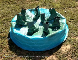 DIY Group Toy Soldier Costume
