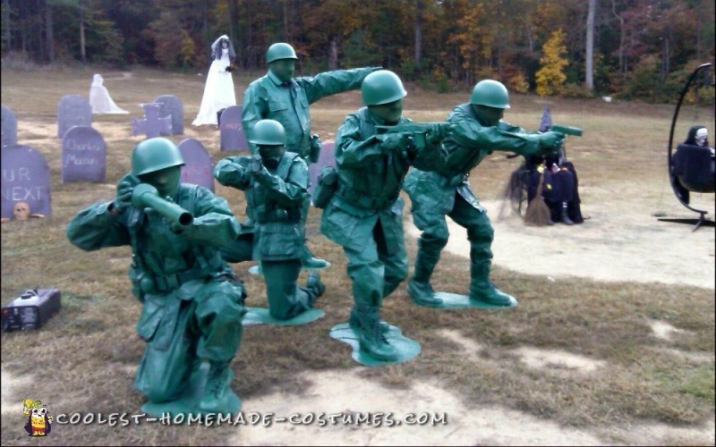 Toy Soldiers Ready for Action