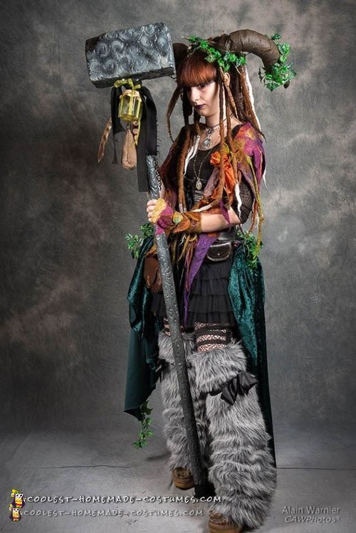 Artistic and Demonic Fairy Eater Costume - 1