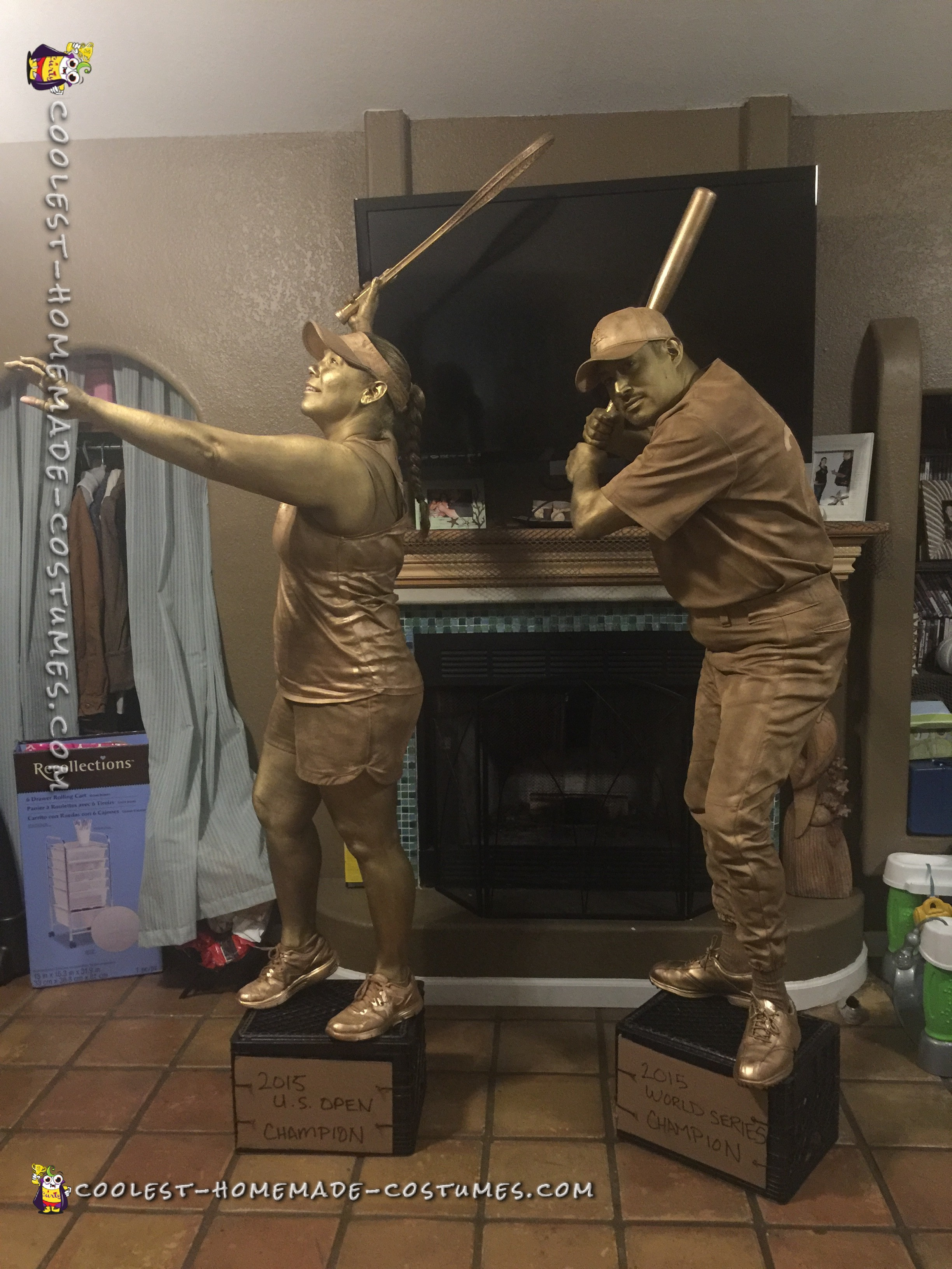 Great Couple Costume - A Couple of Trophies