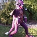 Alanadragon - Purple Lightening Breathing Dragon Costume