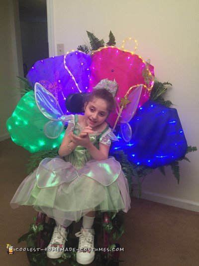Alyssa's Tinkerbell Tale Costume
