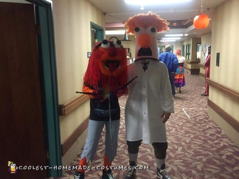 Animal and Beaker Costumes Bringing Joy to Nursing Home