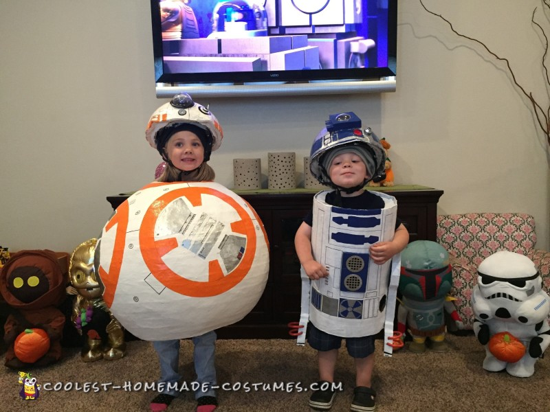 R2D2 and BB8 Costume Ideas – Coolest DIY Droids! - 2