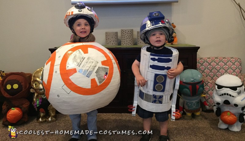 R2D2 and BB8 Costume Ideas – Coolest DIY Droids! - 1