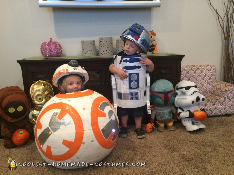 R2D2 and BB8 Costume Ideas - Coolest DIY Droids!