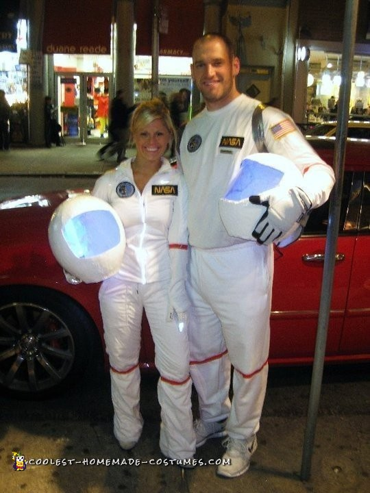 Astronaut Costumes for a Couple
